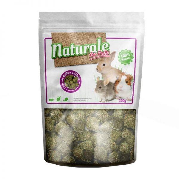 Cubos de Ballica y Alfalfa - Naturale for Pets 300 GR