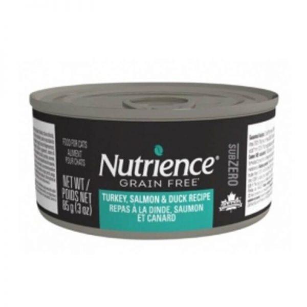 Pavo Salmon y Pato Nutrience GrainFree - 85 GR