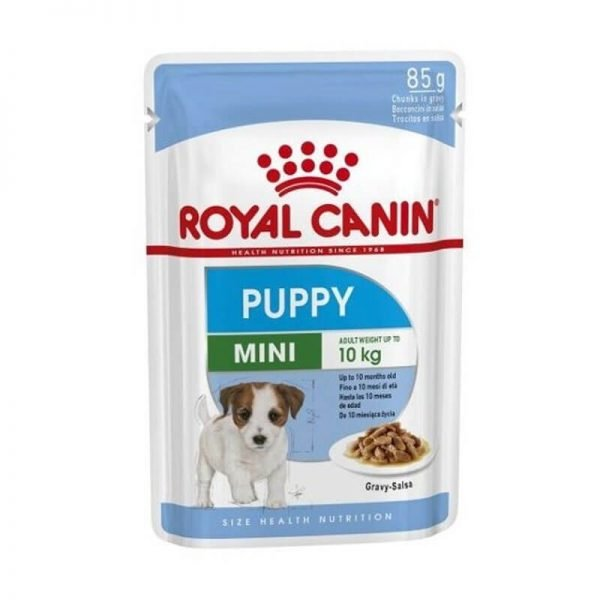 Pouch Mini Puppy 85 GR Royal Canin