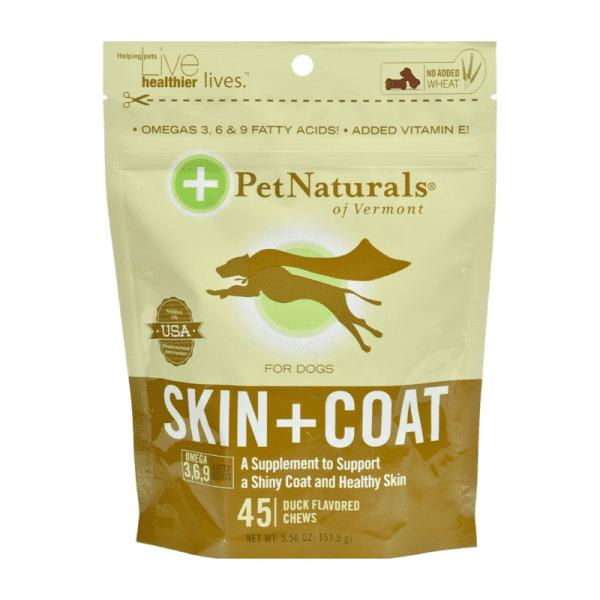 Snack Pet Naturals Skin and Coat Perro