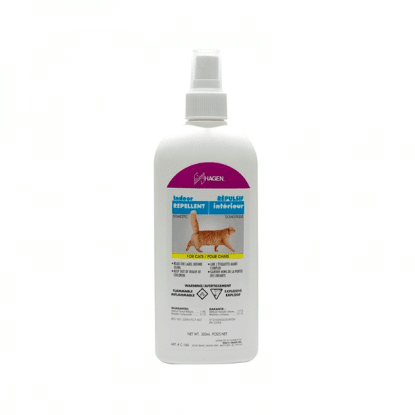 Repelente para gatos interiores pulverizador
