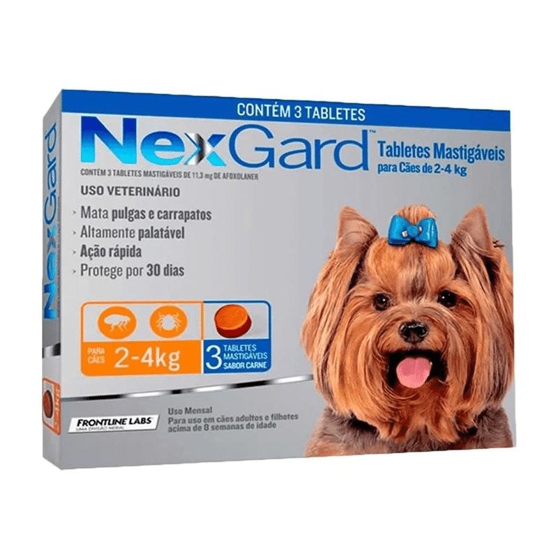 Nexgard 3 Comprimidos