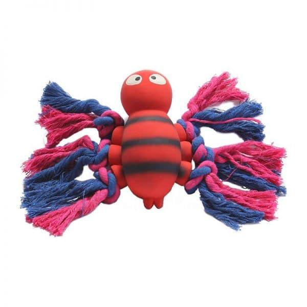 Animal Látex con Cuerda-Rojo