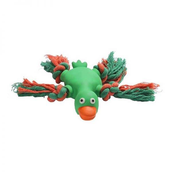 Animal Látex con Cuerda-Verde