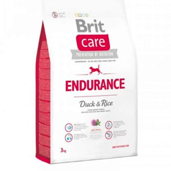BRIT Endurance Pato y Arroz 3 Kg