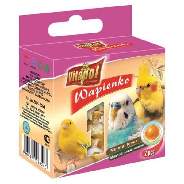 Bloque Mineral Vitapol para Aves con Naranja