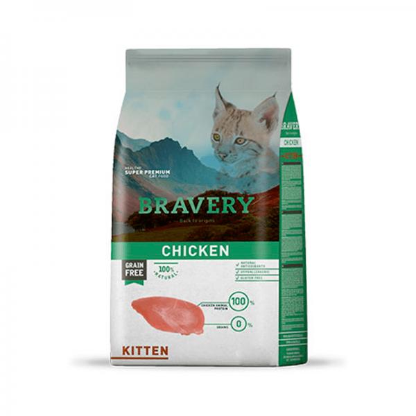 Bravery Pollo Kitten 2kg
