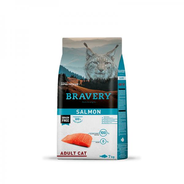 Bravery Salmón Gato Adulto 7kg (1)