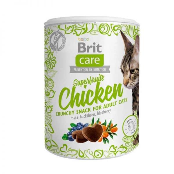 Brit - Lata Snack Superfruits Chicken - 100g