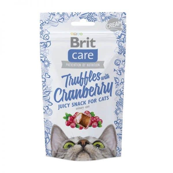 Brit - Snack Truffles Cranberry - Arandanos - 50gr
