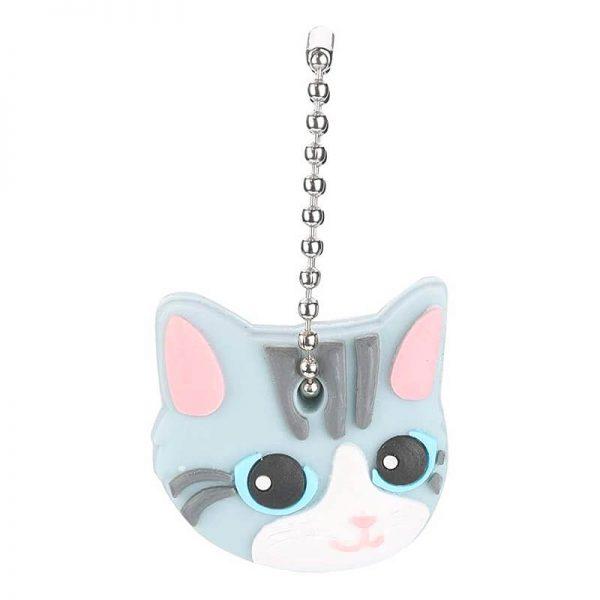 Cubre Llaves Pequeño Gato Gris