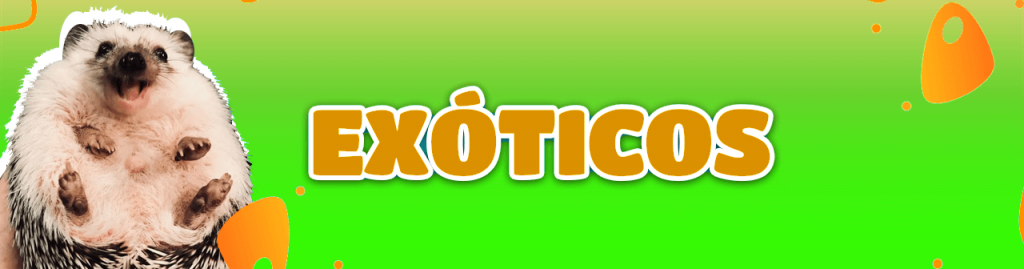 Productos para animales exóticos