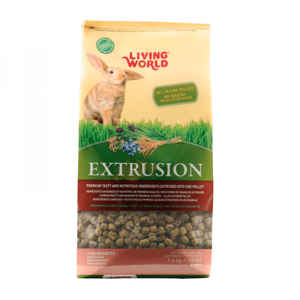 Extrusion Conejo Living World 600grs.