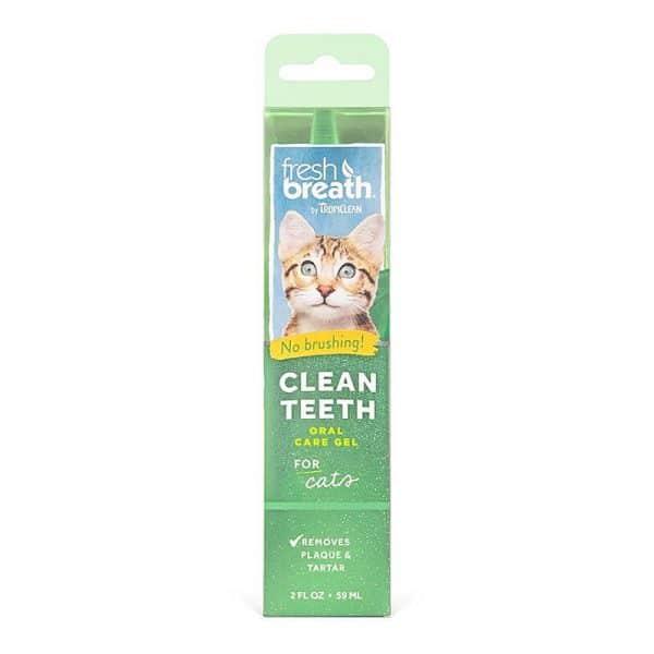 Gel dental para gatos Tropiclean