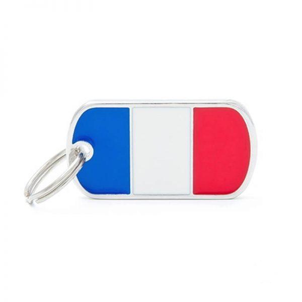 Chapita My Family - French Flag