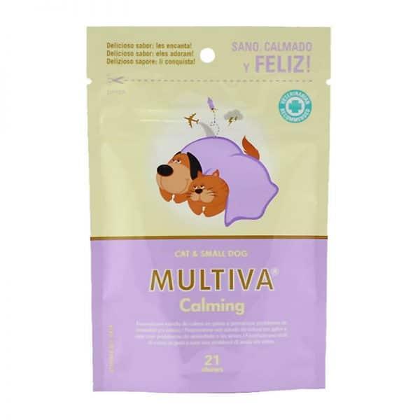 Multiva Calming Perro Razas Pequeñas y Gatos 21 Bocados