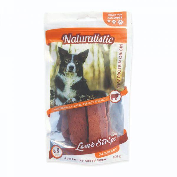 Naturalistic Tiritas de Cordero Sin Gluten Para Perro