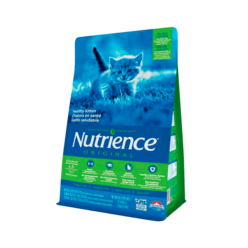Nutrience – Original Healthy Kitten – 2,5 Kg