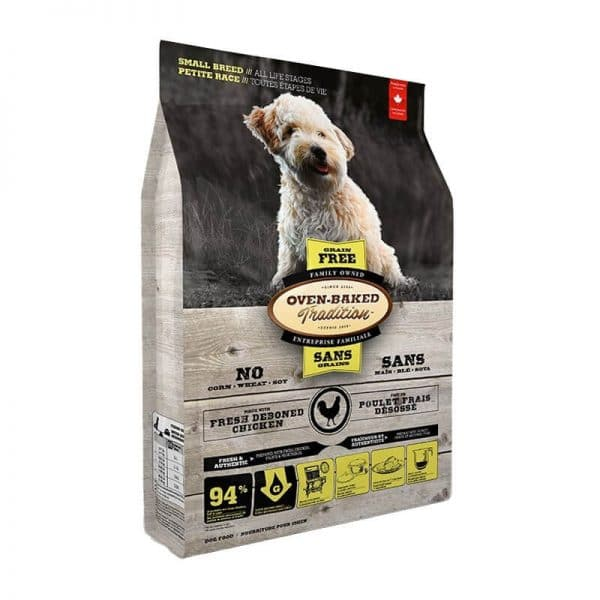 Grain-Free Chicken Small Breeds Oven-Baked 5,67Kg
