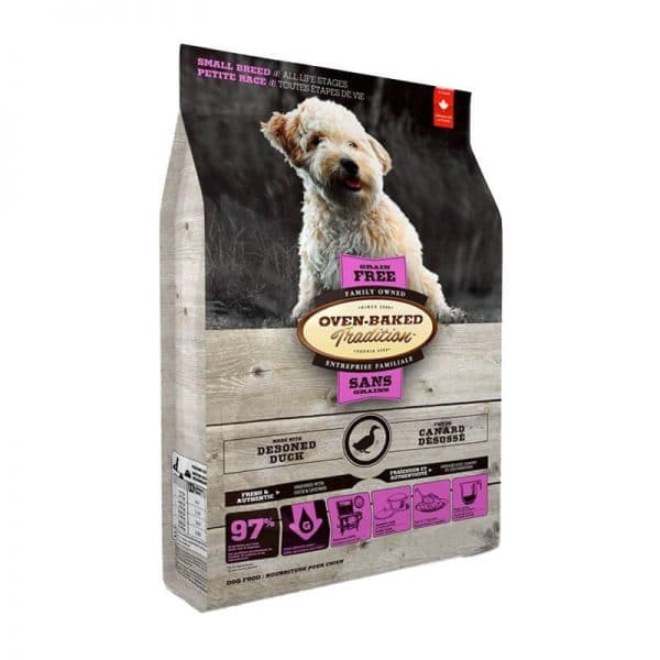Grain-Free Duck Small Breeds Oven-Baked 4,54kg