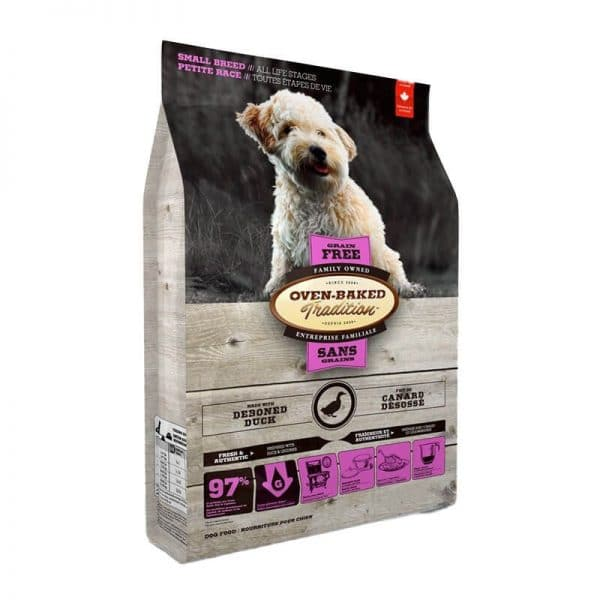 Grain-Free Duck Small Breeds Oven-Baked 2,27Kg