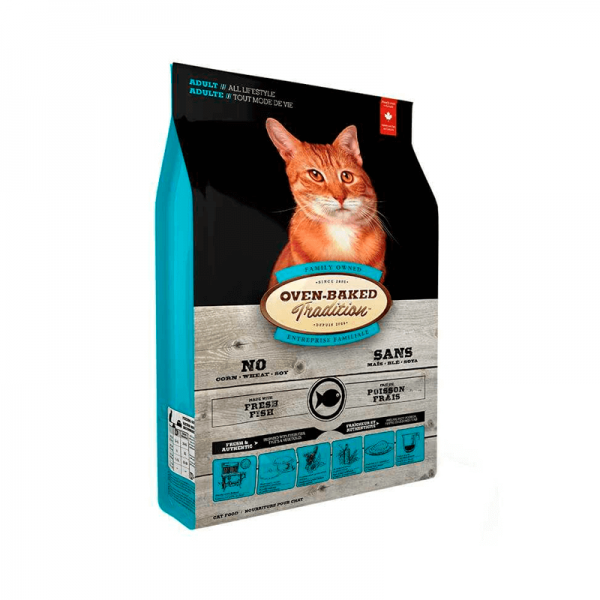 Adult Cat Fish Oven-Baked 4,54 Kg