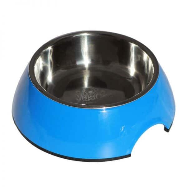 Plato Alimentador Sólido - Azul - XL