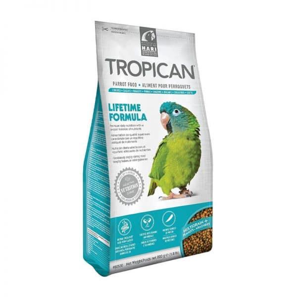 Tropican Alimento para Loros - Mantención Granulado - 820 g|