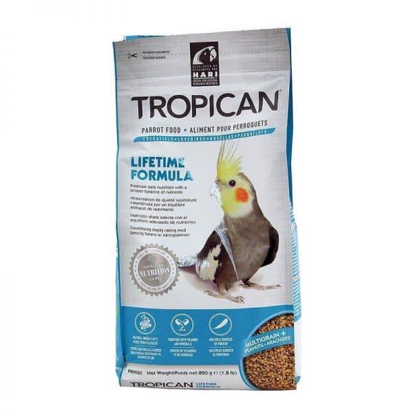 Tropican Alimento para Ninfas - Mantención Granulado - 820 g