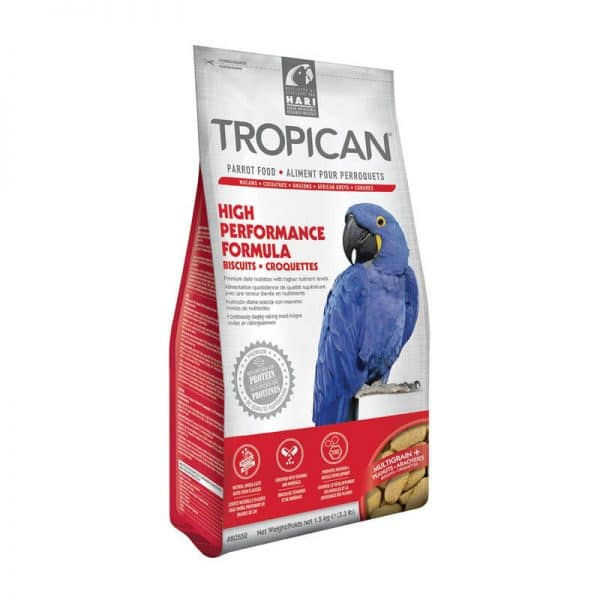 Tropican High Performance Biscuits Loros - 1,5 Kg