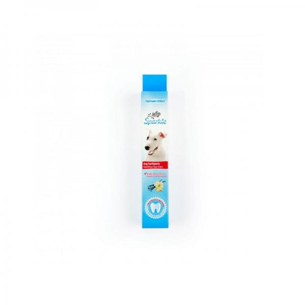 AFP Sparkle Pasta de dientes sabor vainilla y jengibre