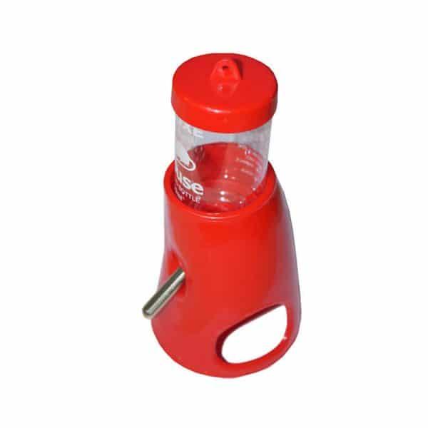 Bebedero Base Autosustentable Rojo 80ml