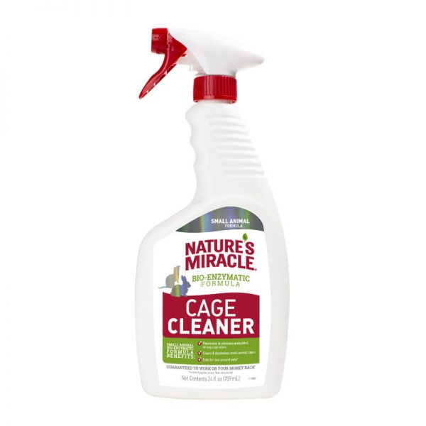 cage cleaner 709ml natures miracles