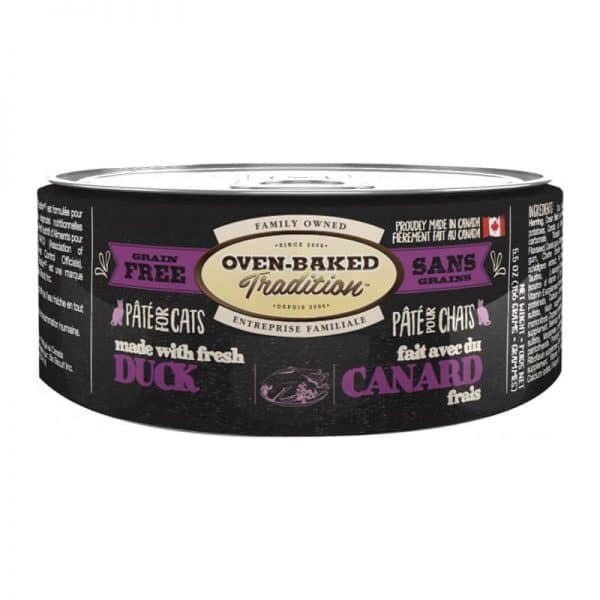 Oven-Baked T Lata Pate Duck Adult Cat 156g