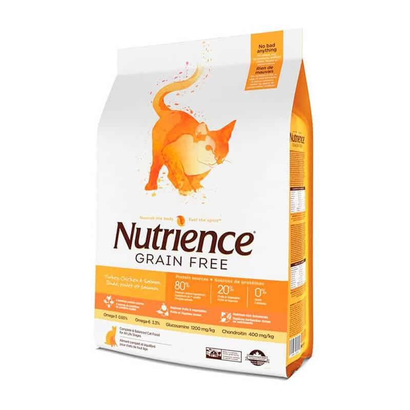 Nutrience - Grain Free - Pavo, Pollo y Arenque - 5Kg