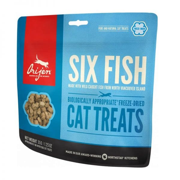 Orijen Cat Treats Six Fish 35g