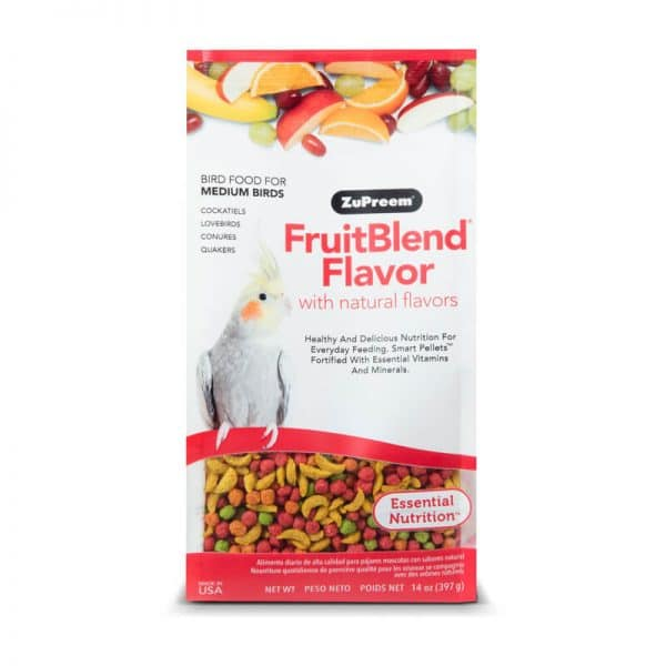 Zupreem Fruitblend Flavor Medium 200g