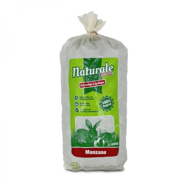 Heno de Ballica Manzana Naturale For Pets - 600grs