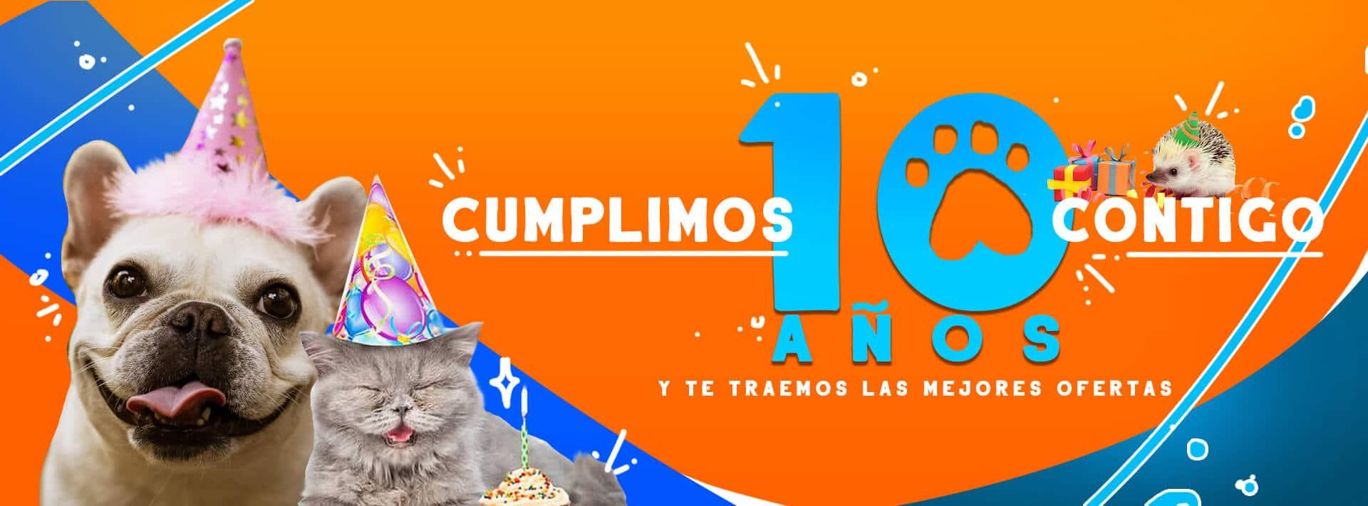 Ofertas de aniversario en TusMascotas.cl