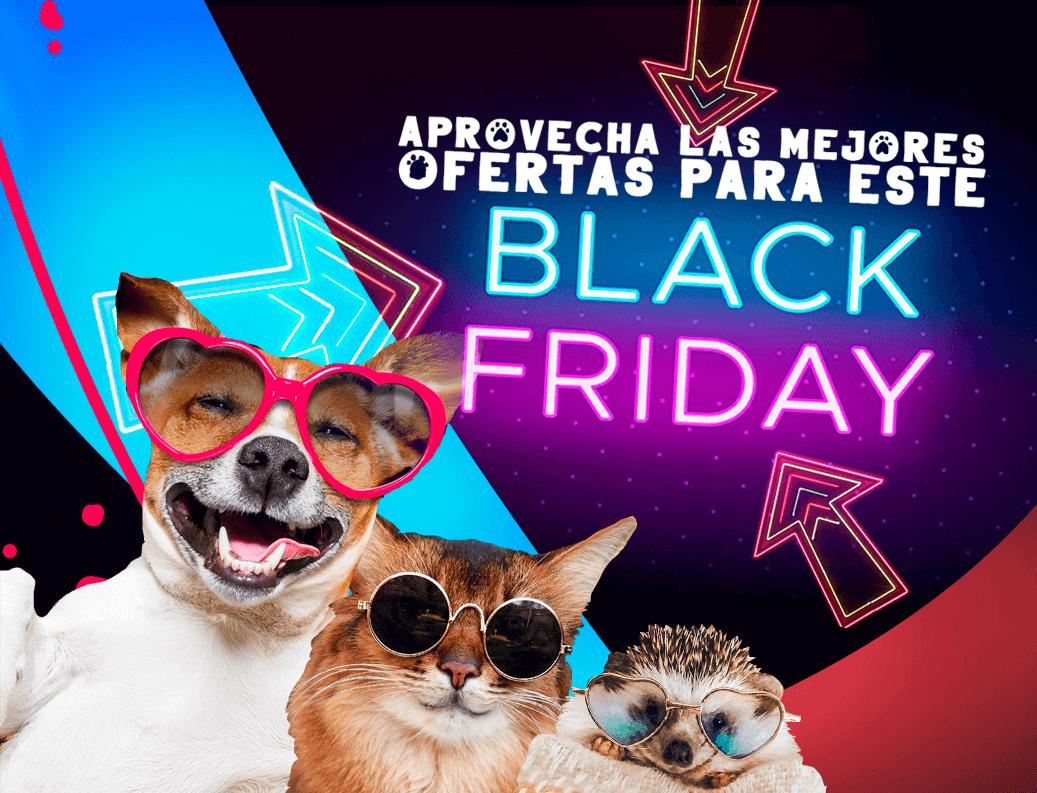Promociones de black friday en tienda online de mascotas