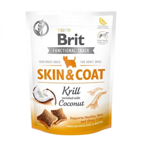 Snack brit Skin and Coat 150gr