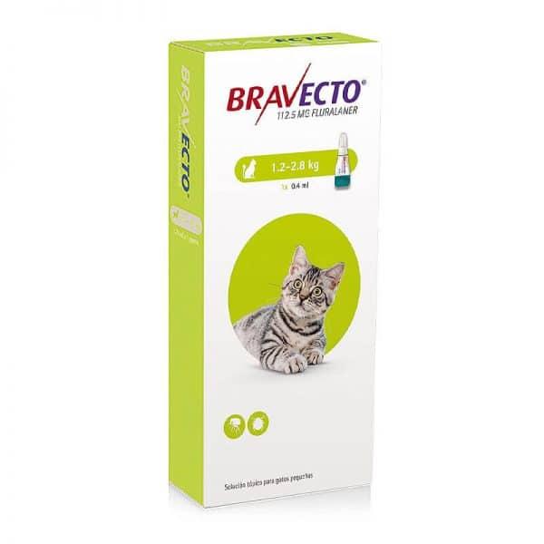 Bravecto Antiparasitario Externo para Gatos - 1,2 Kg a 2,8 Kg