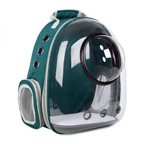 mochila astronauta verde
