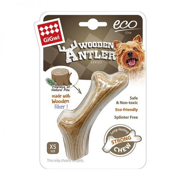 Gigwi Wooden Antler XSmall