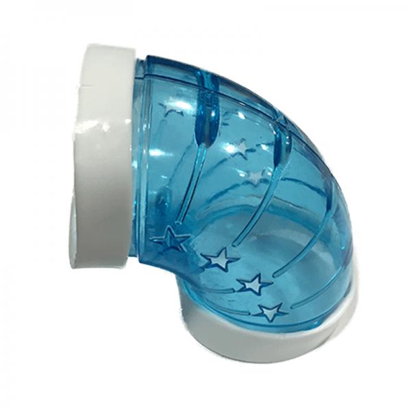 Tubo plastico para jaula hamster