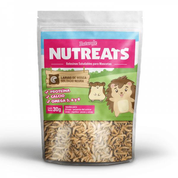Larvas Mosca Soldado - Naturale For Pets