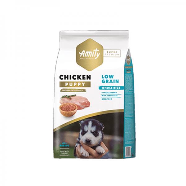 Amity Chicken Puppy SP Low Grain 4kg