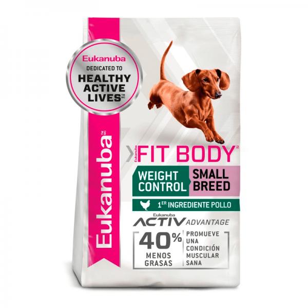 eukanuba fit body small 2,3 kg