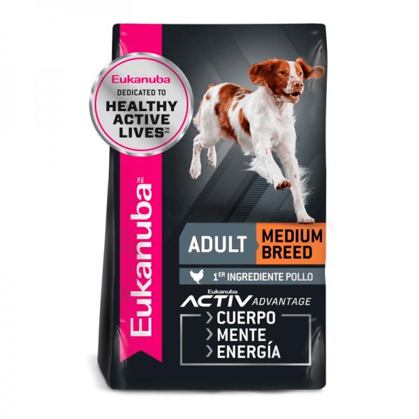 Eukanuba adult medium breed 2.3 kg