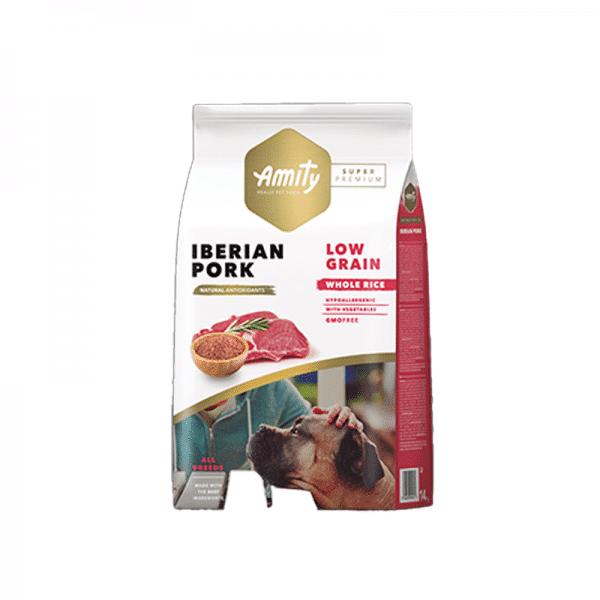 Amity Iberian Pork Adult SP Low Grain 4kg